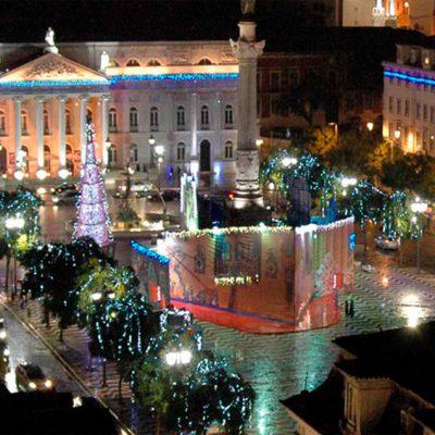 Montar 672m cortina luces Navidad tipo estalactita