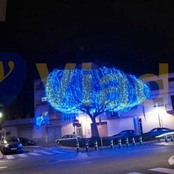 Decoración de Árbol de Navidad de luces led