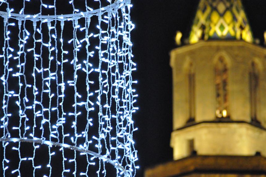 lámpara de araña de luz 2