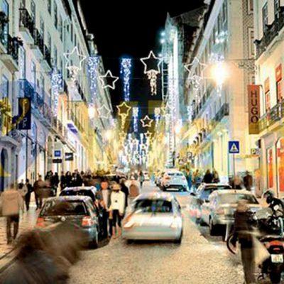 Luces Navidad guirnaldas de navidad