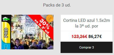 Comprar directamente el pack de 3 unidades
