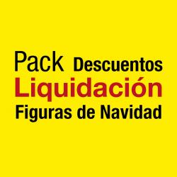 Figuras de luces Navidad -  Pack de liquidación