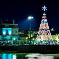 Árbol de Navidad Gigante Viada Rapid