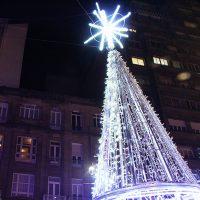 Luces árbol navidad, su instalación