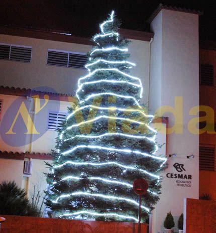 Arboles de navidad con luces led - Arbol navidad led ...