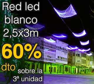 comprar cortina led blanco 9x4m